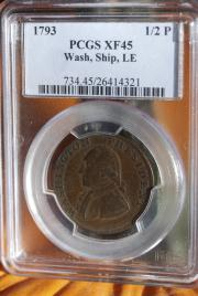 George Washington Ship Token LE