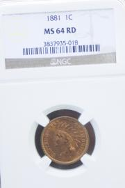 1881 Indian Head 1 Cent
