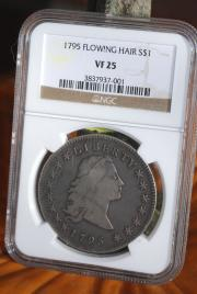1795 FLOWING HAIR S DOLLAR