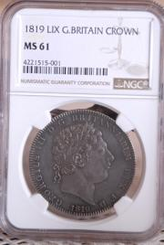 1819 LIX    CROWN